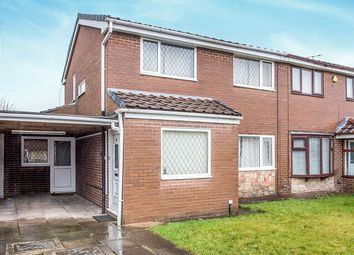 Thumbnail 3 bed semi-detached house for sale in Denholme, Upholland, Skelmersdale