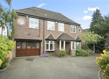 Thumbnail 4 bed detached house for sale in Ferry Lane, Laleham, Surrey