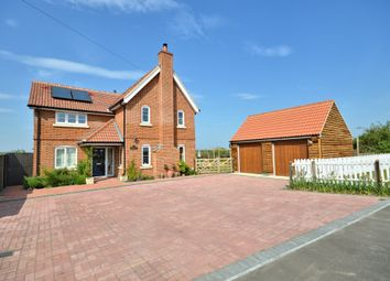 Thumbnail 4 bed detached house for sale in Dereham Road, Garvestone, Norwich