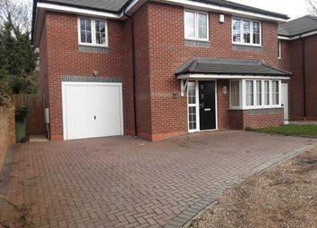 Thumbnail 4 bed detached house to rent in Marsh Lane, Wolverhampton