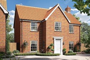Thumbnail 4 bedroom detached house for sale in The Upcher, Cromer Road, Holt, Norfolk