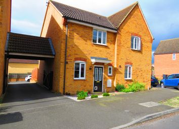 Thumbnail 2 bed semi-detached house for sale in Cooper Drive, Leighton Buzzard
