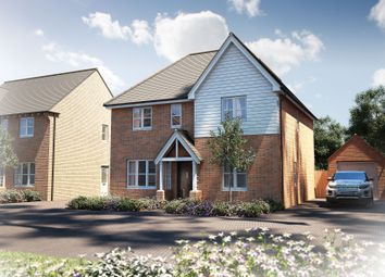 "Thumbnail 4 bed detached house for sale in ""The Berrington"" at Oak Tree Road, Hugglescote, Coalville"