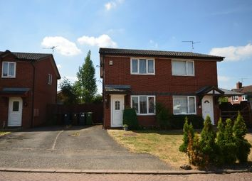 Thumbnail 2 bed semi-detached house for sale in Berneshaw Close, Corby