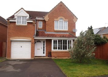 Thumbnail 4 bedroom detached house for sale in Fox Hollow, Oadby, Leicester