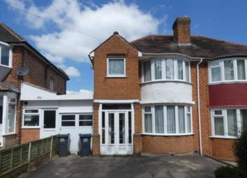 Thumbnail 3 bed semi-detached house to rent in Sunnymead Road, Yardley, Birmingham