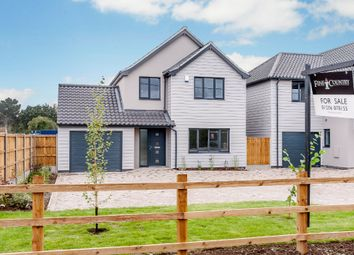 Thumbnail 4 bed detached house for sale in Ardleigh Road, Great Bromley, Colchester