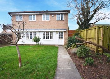 Thumbnail 2 bed semi-detached house to rent in Caradoc Close, St. Mellons, Cardiff