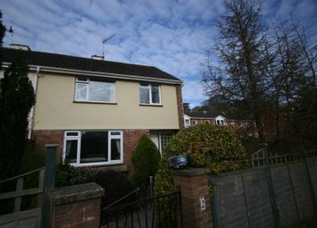 Thumbnail 3 bed semi-detached house to rent in Milton Court, Newton Abbot