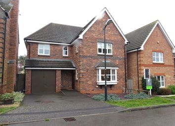 Thumbnail 5 bed detached house for sale in Rowe Close, Rugby