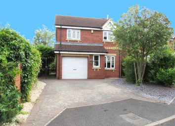 Thumbnail 3 bed detached house for sale in Shuttleworth Close, Rossington, Doncaster