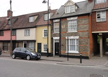 Thumbnail 1 bed terraced house to rent in Bury St. Edmunds