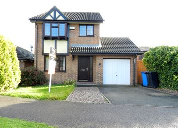 Thumbnail 3 bed detached house to rent in Partridge Way, Mickleover, Derby