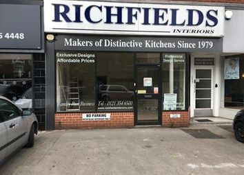 Thumbnail Retail premises to let in 44 Birmingham Road, Sutton Coldfield