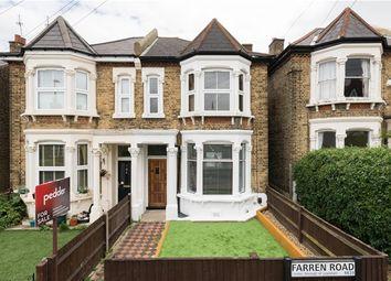 Thumbnail 2 bed flat for sale in Farren Road, London