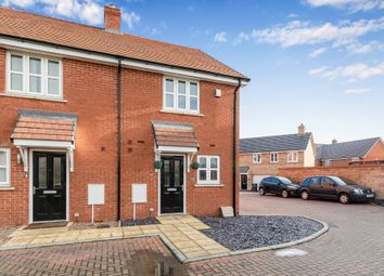 Thumbnail 2 bed end terrace house for sale in Carmichael Drive, Shortstown, Bedford