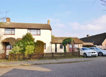 Thumbnail 4 bed semi-detached house for sale in Holloway Crescent, Leaden Roding, Dunmow, Essex