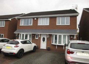 Thumbnail 4 bed detached house for sale in Martland Avenue, Lowton, Warrington