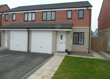 Thumbnail 3 bed semi-detached house for sale in St. Hildas Place, Blaydon-On-Tyne