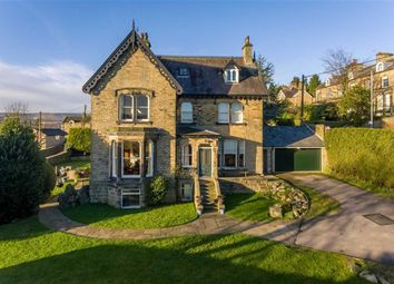 Thumbnail 5 bedroom detached house for sale in Fernbank House, 9, Greenfield Road, Holmfirth