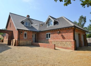 Thumbnail 4 bed detached house for sale in Woodgate, Swanton Morley, Dereham