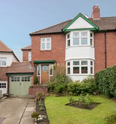 Thumbnail 4 bed semi-detached house for sale in Alexandra Crescent, Hexham