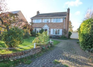 Thumbnail 4 bed detached house for sale in Station Road, Haddenham, Ely, Cambridgeshire