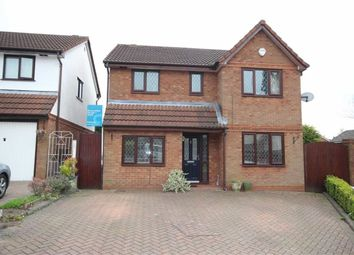 Thumbnail 4 bedroom detached house for sale in Merebank Close, Walkden, Manchester