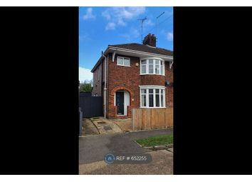 Thumbnail 3 bed semi-detached house to rent in Shortacres Road, Peterborough