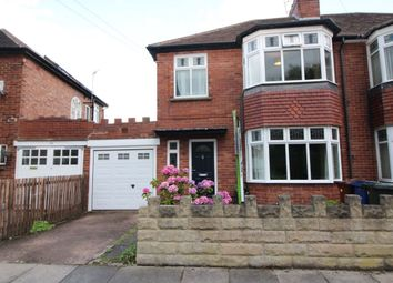 Thumbnail 3 bedroom semi-detached house for sale in Hunters Road, Gosforth, Newcastle Upon Tyne