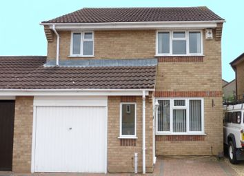 Thumbnail 3 bed link-detached house for sale in Caldbeck Close, Gunthorpe, Peterborough