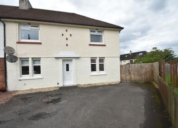 Thumbnail 2 bed flat for sale in Woodlands Crescent, Bothwell