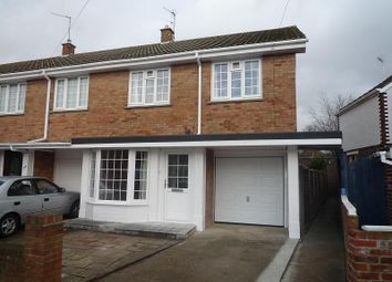 Thumbnail 3 bed semi-detached house to rent in Amberley Road, Portsmouth