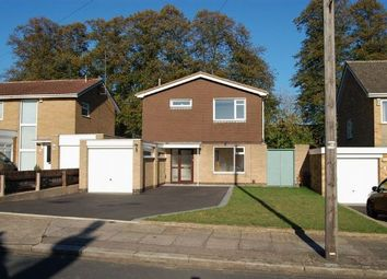 Thumbnail 3 bed detached house for sale in Rushmere Crescent, Rushmere, Northampton