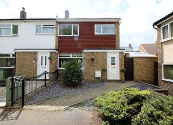 Thumbnail 3 bed end terrace house for sale in Melbourne Close, Stotfold, Hitchin