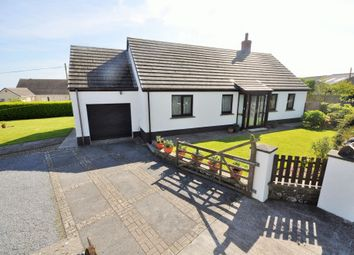 Thumbnail 3 bed detached bungalow for sale in Tegfan, Llansadurnen, Laugharne, Carmarthen