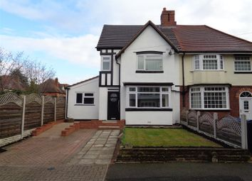 Thumbnail 3 bed semi-detached house for sale in Homecroft Road, Yardley, Birmingham