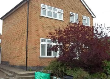 Thumbnail 3 bedroom detached house to rent in Prince Drive, Oadby, Leicester