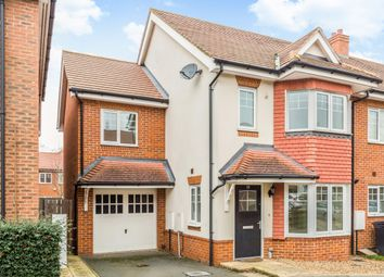 Thumbnail 4 bedroom end terrace house to rent in Poplar Road, Esher