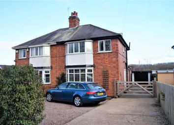 Thumbnail 3 bed semi-detached house for sale in Cropston Road, Anstey, Leicester