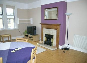 Thumbnail 3 bedroom flat to rent in Learmonth Park, Edinburgh