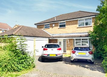Thumbnail 4 bed detached house for sale in Deerhurst Close, Totton, Southampton