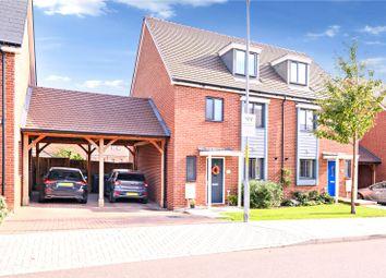4 bed semi-detached house for sale in Motte Lane, Castle Hill, Ebbsfleet Valley, Swanscombe DA10