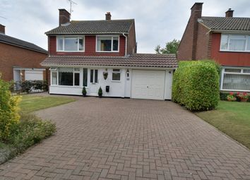 Thumbnail 3 bed detached house for sale in Howard Drive, Letchworth Garden City, Hertfordshire