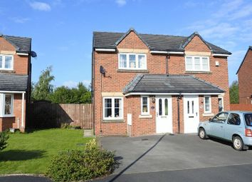 Thumbnail 2 bed semi-detached house for sale in Edenside, Cargo, Carlisle