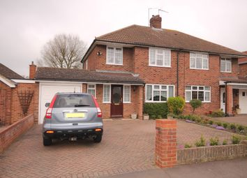 Thumbnail 3 bed semi-detached house for sale in Rowallan Drive, Bedford