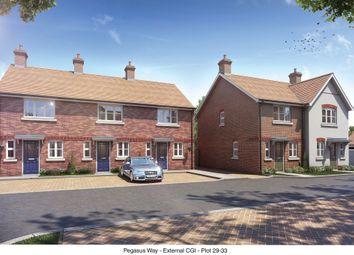 Thumbnail 2 bed terraced house for sale in Millway Furlong, Haddenham, Aylesbury