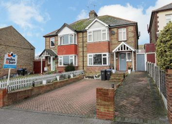Thumbnail 3 bedroom semi-detached house for sale in Downs Road, Ramsgate