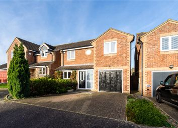 Thumbnail 4 bed detached house for sale in Carpenders Close, Harpenden, Hertfordshire