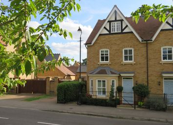 Thumbnail 4 bed semi-detached house for sale in Bronte Avenue, Fairfield, Hitchin